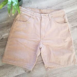 Wrangler khaki carpenter shorts size 36